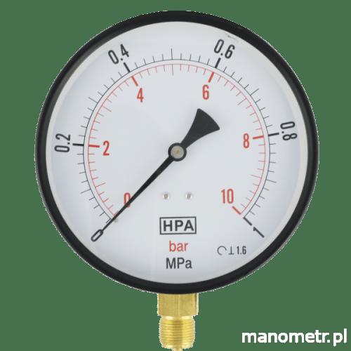 Manometr M160R HPA