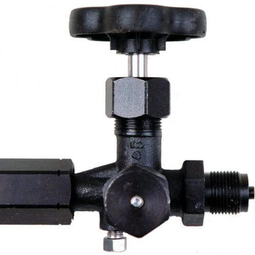 Zawór manometrowy 3-drogowy PN400