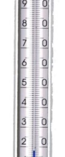 termometr płynowy prosty