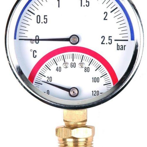 termo-manometr radialny